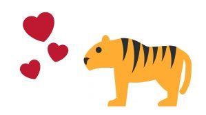 tigre y amor 2019