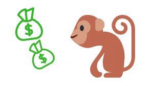 mono y dinero