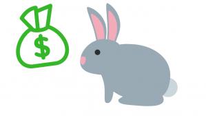el conejo y el dinero