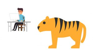 tigre y trabajo en 2019