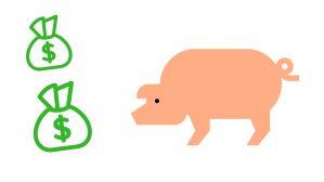 cerdo y el dinero 2019