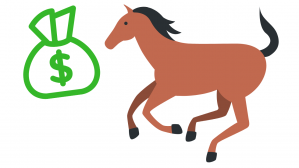 caballo y dinero