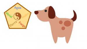 perro y su elemento