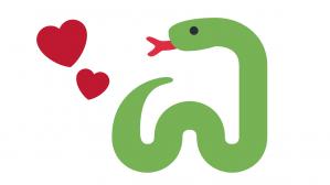 serpiente y amor