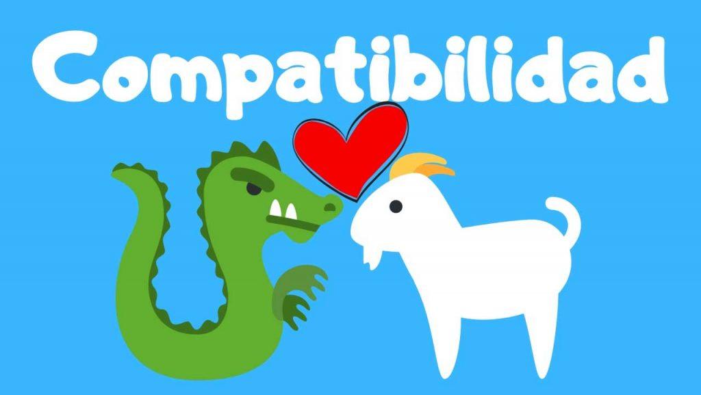 compatibilidad del horóscopo chino de dragón con cabra