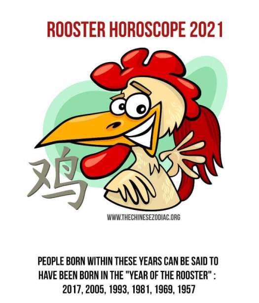 horóscopo año del gallo 2021