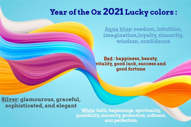 colores de la suerte 2021