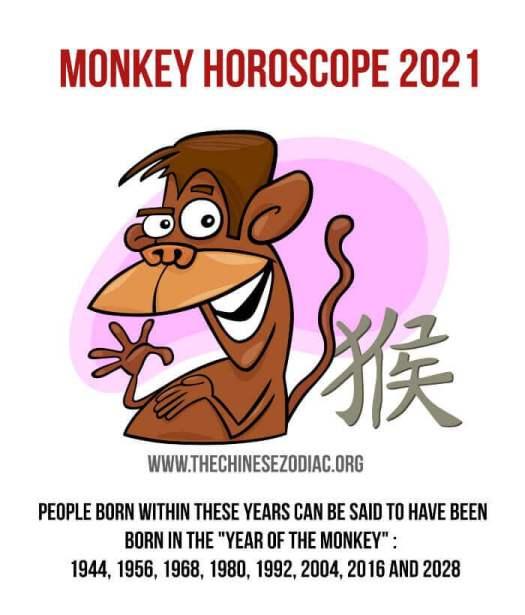 horóscopo año del mono 2021